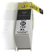 PrintLab Remanufactured Tintenpatrone 0014N1092E 22 kompatibel mit Lex 100 BK