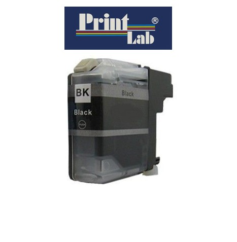PrintLab Tintenpatrone Black 30ml kompatibel mit Brother LC1240/1280xlBK