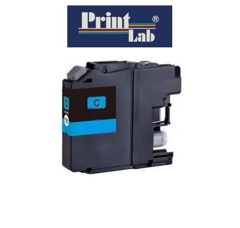PrintLab Tintenpatrone Cyan 10ml kompatibel mit Brother LC-123C (ersetzt durch B4176)
