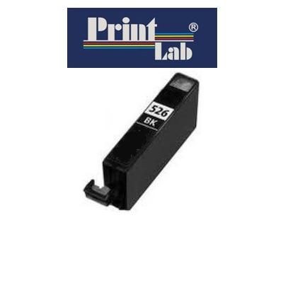 PrintLab Tintenpatrone Black 10,5ml kompatibel mit Canon CLI-526BK Pixma MG5350 MG6150 MG8250