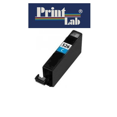 PrintLab Tintenpatrone Cyan 10,5ml kompatibel mit Canon CLI-526C Pixma MG5350 MG6150 MG8250