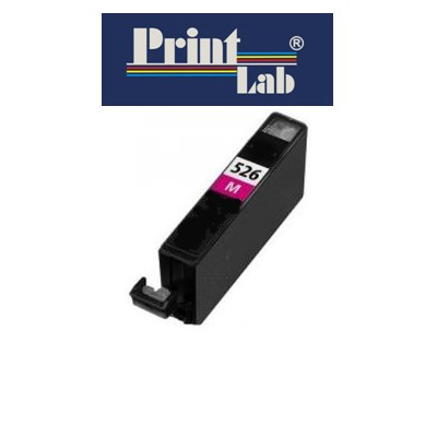 PrintLab Tintenpatrone Magenta 10,5ml kompatibel mit Canon CLI-526M Pixma MG5350 MG6150 MG8250