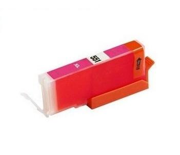 PrintLab Tintenpatrone Magenta mit Chip 11ml kompatibel mit Canon CLI-551xlMA Pixma IP7250 MG5450 MX725 MX925