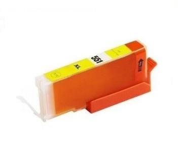 PrintLab Tintenpatrone Yellow mit Chip 11ml kompatibel mit Canon CLI-551xlYE Pixma IP7250 MG5450 MX725 MX925