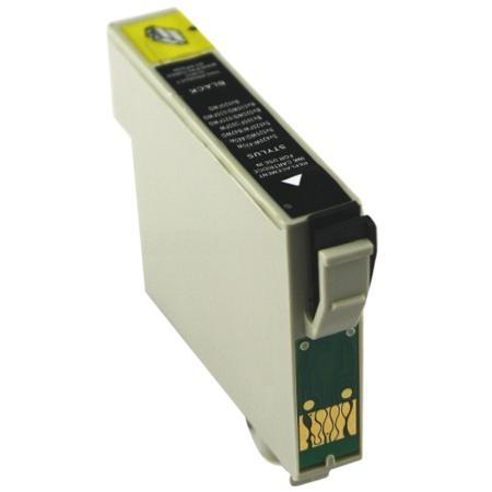 PrintLab Tintenpatrone Black 18ml kompatibel mit Epson T1811 Expression Home XP30 XP205 XP412